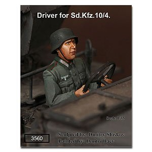 Conductor para Sd.Kfz.10 / 4  (Vista 1)