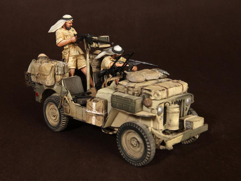 Tripulación del Jeep SAS. África del Norte.1941-42 (Vista 6)