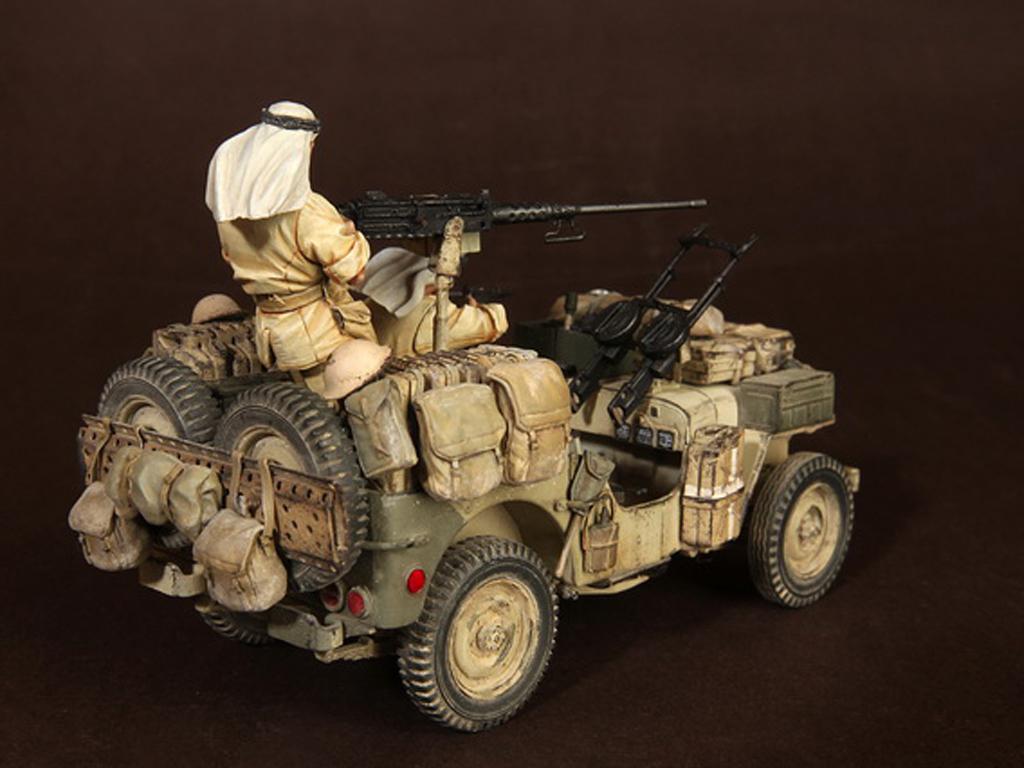 Tripulación del Jeep SAS. África del Norte.1941-42 (Vista 8)