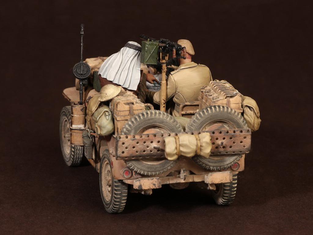 Tripulación del Jeep SAS. África del Norte.1941-42 (Vista 7)