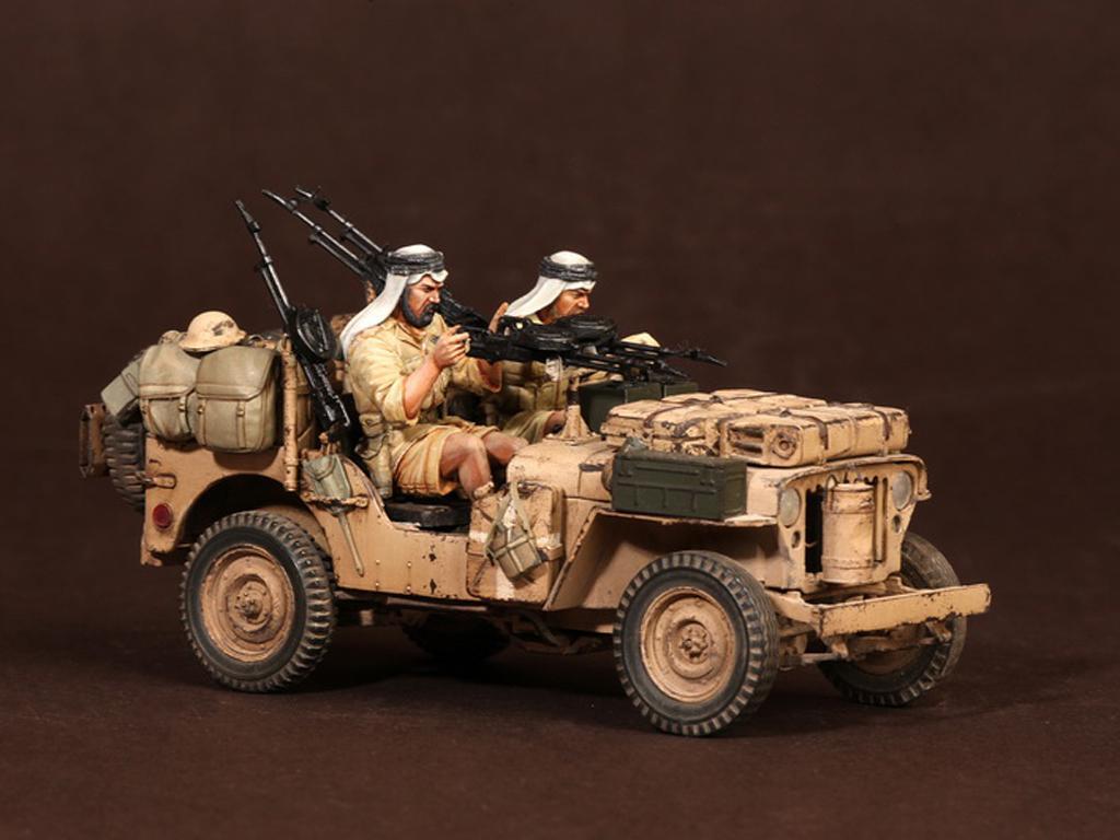Tripulación del Jeep SAS. África del Norte.1941-42 (Vista 10)