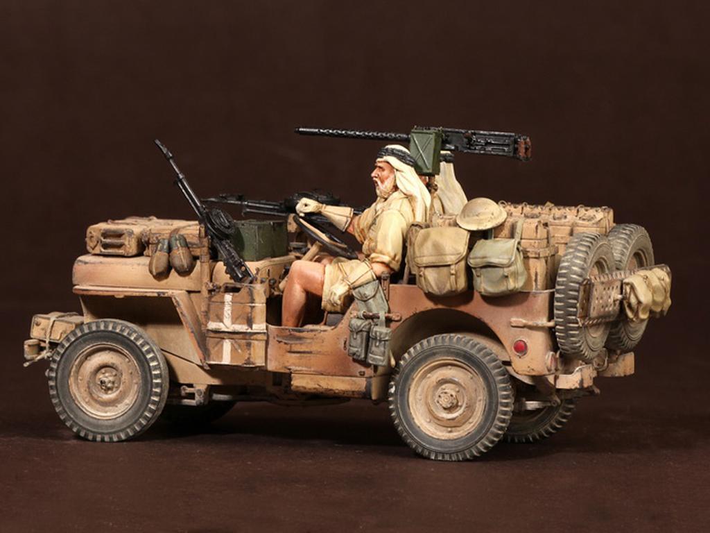 Tripulación del Jeep SAS. África del Norte.1941-42 (Vista 5)