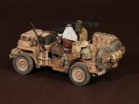 Tripulación del Jeep SAS. África del Norte.1941-42 (Vista 15)