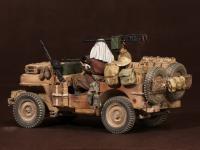 Tripulación del Jeep SAS. África del Norte.1941-42 (Vista 16)