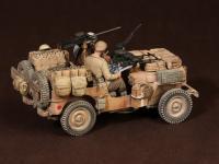 Tripulación del Jeep SAS. África del Norte.1941-42 (Vista 18)