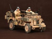 Tripulación del Jeep SAS. África del Norte.1941-42 (Vista 12)