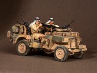 Tripulación del Jeep SAS. África del Norte.1941-42 (Vista 13)