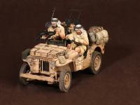 Tripulación del Jeep SAS. África del Norte.1941-42 (Vista 14)