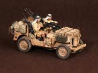Tripulación del Jeep SAS. África del Norte.1941-42 (Vista 17)