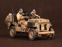 Tripulación del Jeep SAS. África del Norte.1941-42 (Vista 19)