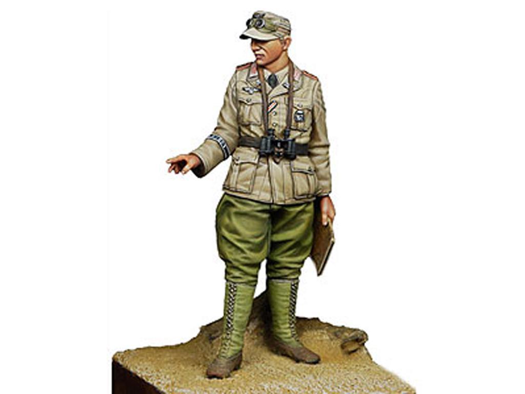 Oficial Panzer Aleman del DAK  (Vista 1)