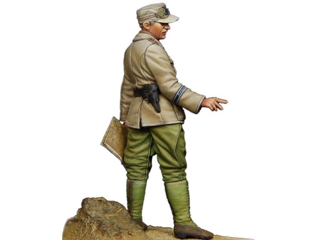 Oficial Panzer Aleman del DAK  (Vista 2)