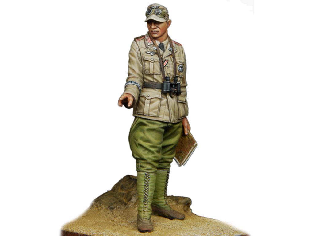 Oficial Panzer Aleman del DAK  (Vista 3)