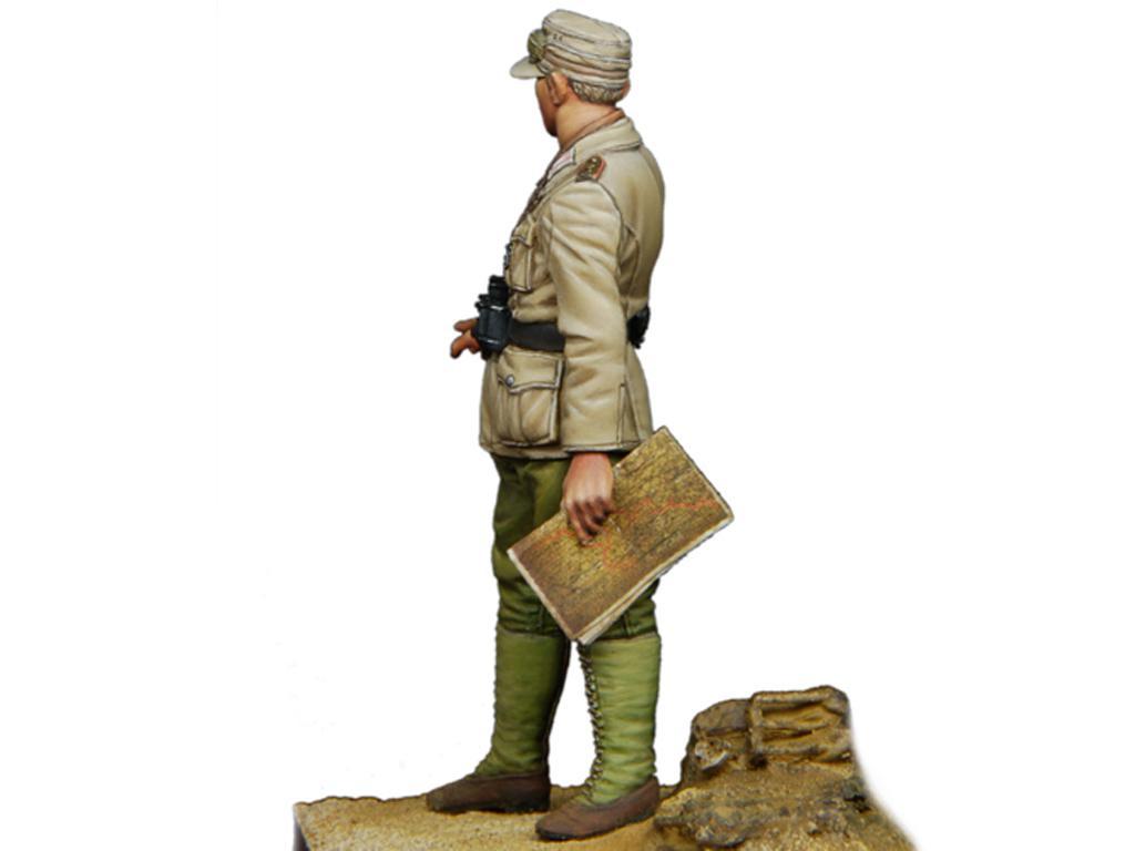 Oficial Panzer Aleman del DAK  (Vista 4)