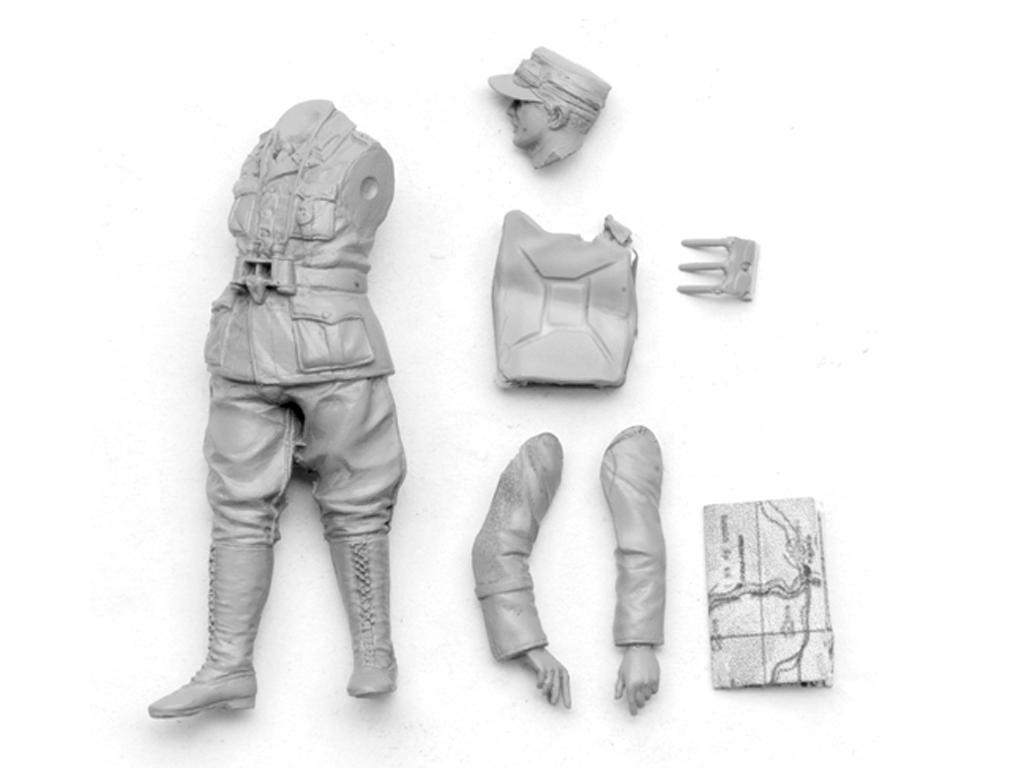Oficial Panzer Aleman del DAK  (Vista 5)