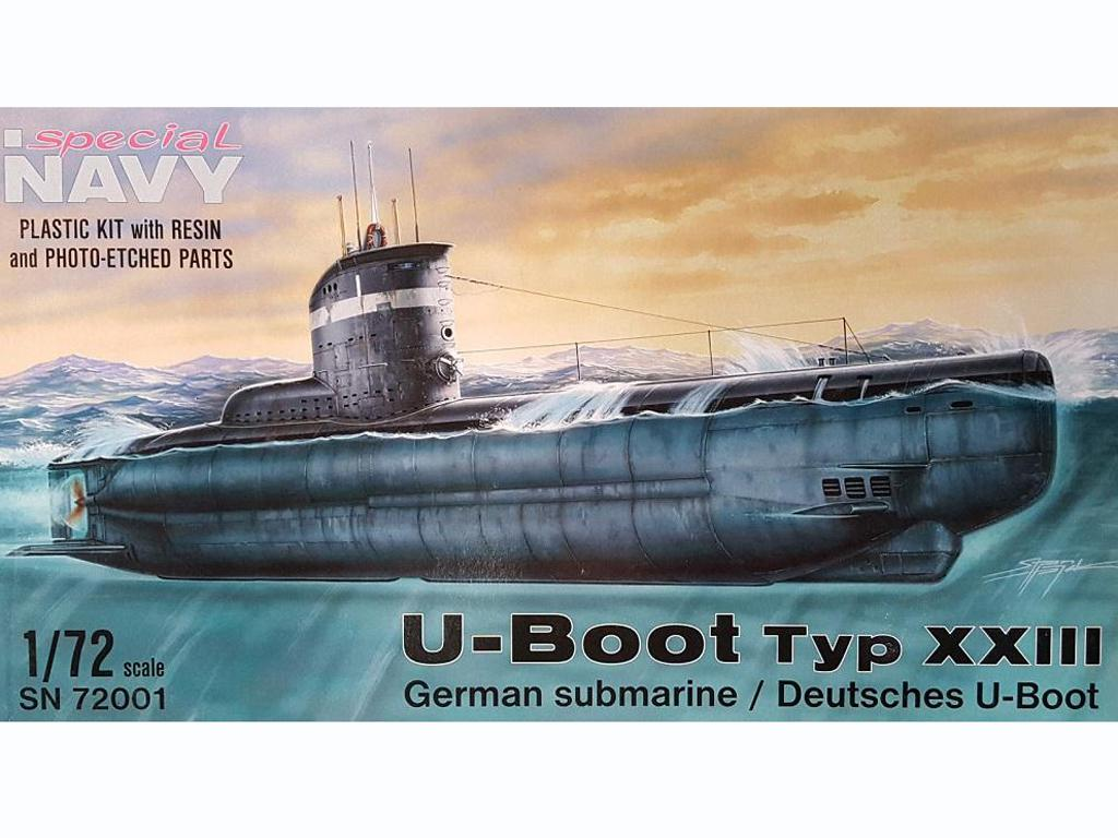 U-Boot type XXIII - Ref.: SPEC-SN72001