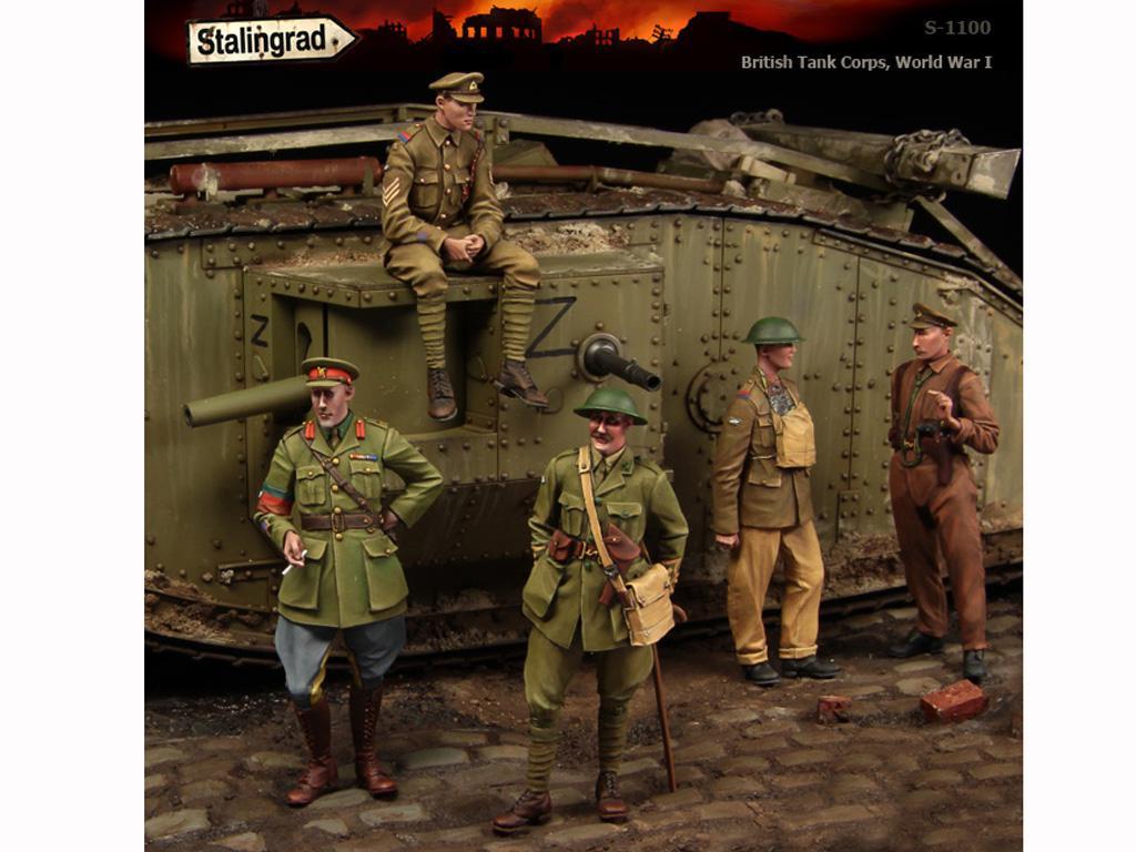 British Tank Corps - Ref.: STAL-1100