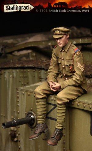 Tanquista Britanico WWI - Ref.: STAL-1101