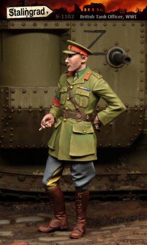 Oficial Tanquista Britanico WWI  (Vista 1)
