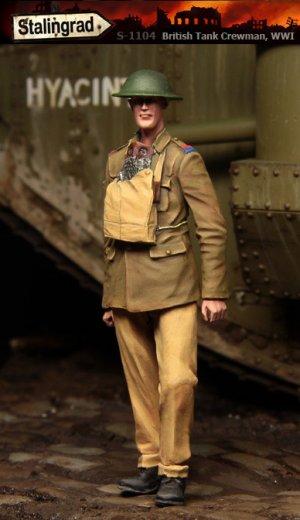 Tanquista Britanico WWI - Ref.: STAL-1104