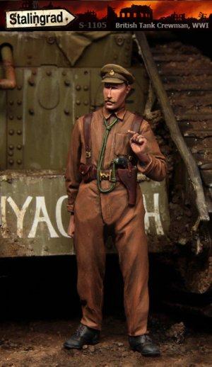 Tanquista Britanico WWI - Ref.: STAL-1105