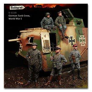 German Tank Crew, WWI - Ref.: STAL-1110