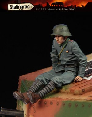 Soldado Aleman WWI - Ref.: STAL-1111