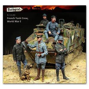 Tanquistas Franceses WWI  (Vista 1)