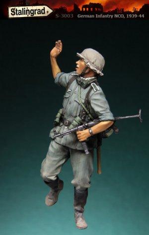 German Infantry NCO  (Vista 1)