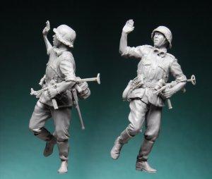 German Infantry NCO  (Vista 3)
