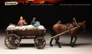 Russian refugees with cart  (Vista 2)