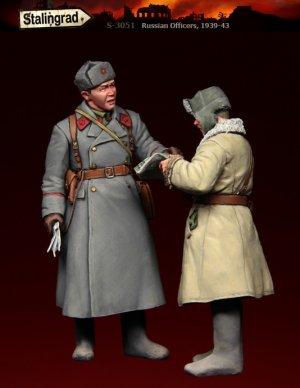 Oficiales Rusos  (Vista 1)