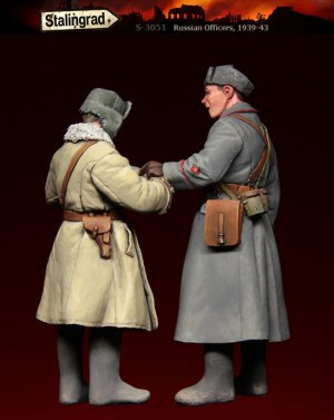 Oficiales Rusos  (Vista 2)