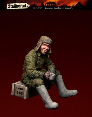 Soldado Ruso sentado  (Vista 1)
