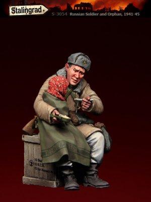 Soldado Ruso y Crio  (Vista 2)