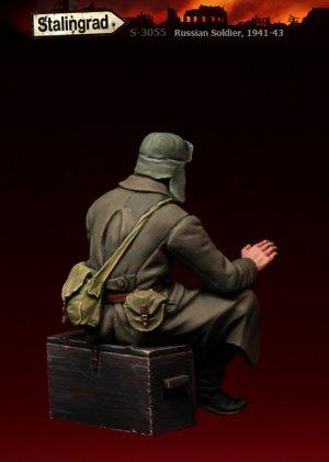 Soldado Ruso 1941-43  (Vista 2)