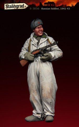 Soldado Ruso 1941-43  (Vista 1)