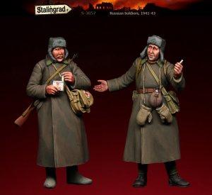 Soldados Rusos 1941-43  (Vista 1)