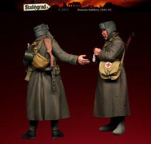 Soldados Rusos 1941-43  (Vista 2)