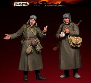 Soldados Rusos 1941-43  (Vista 3)