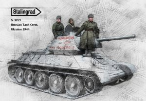 Tanquistas Rusos Ucrania 1944  (Vista 2)