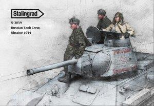 Tanquistas Rusos Ucrania 1944  (Vista 3)