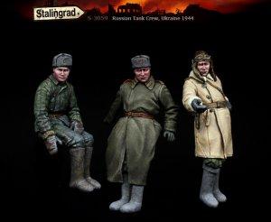 Tanquistas Rusos Ucrania 1944  (Vista 4)