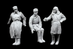 Tanquistas Rusos Ucrania 1944  (Vista 5)