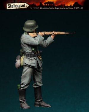 Infanteria Alemana Apuntando  (Vista 1)