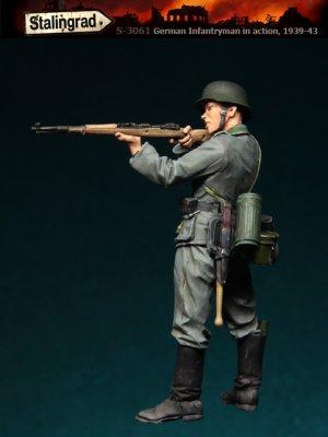 Infanteria Alemana Apuntando  (Vista 2)