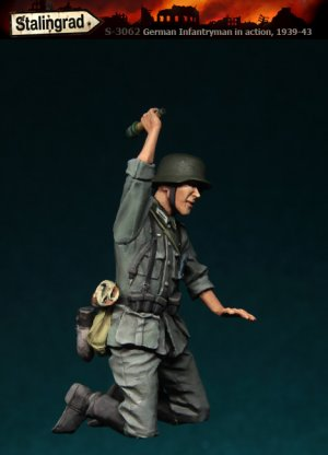 Infanteria Alemana con Granada  (Vista 2)