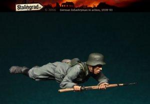 Infanteria Alemana Tumbado  (Vista 1)