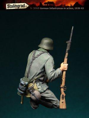 Infanteria Alemana en cuclillas  (Vista 2)
