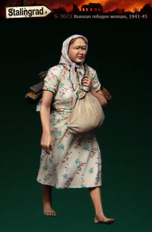 Refugiada Rusa 1941-45  (Vista 1)